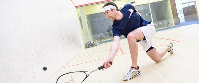 Playing Squash at Bluecoats