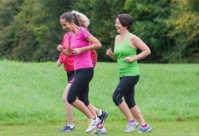 Women running at Bluecoat Sports