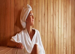 Remove toxins in a sauna