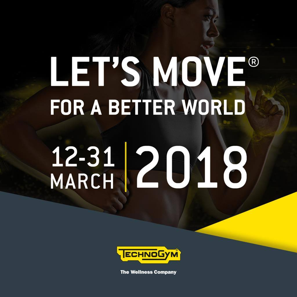 LET'S MOVE FOR A BETTER WORLD!