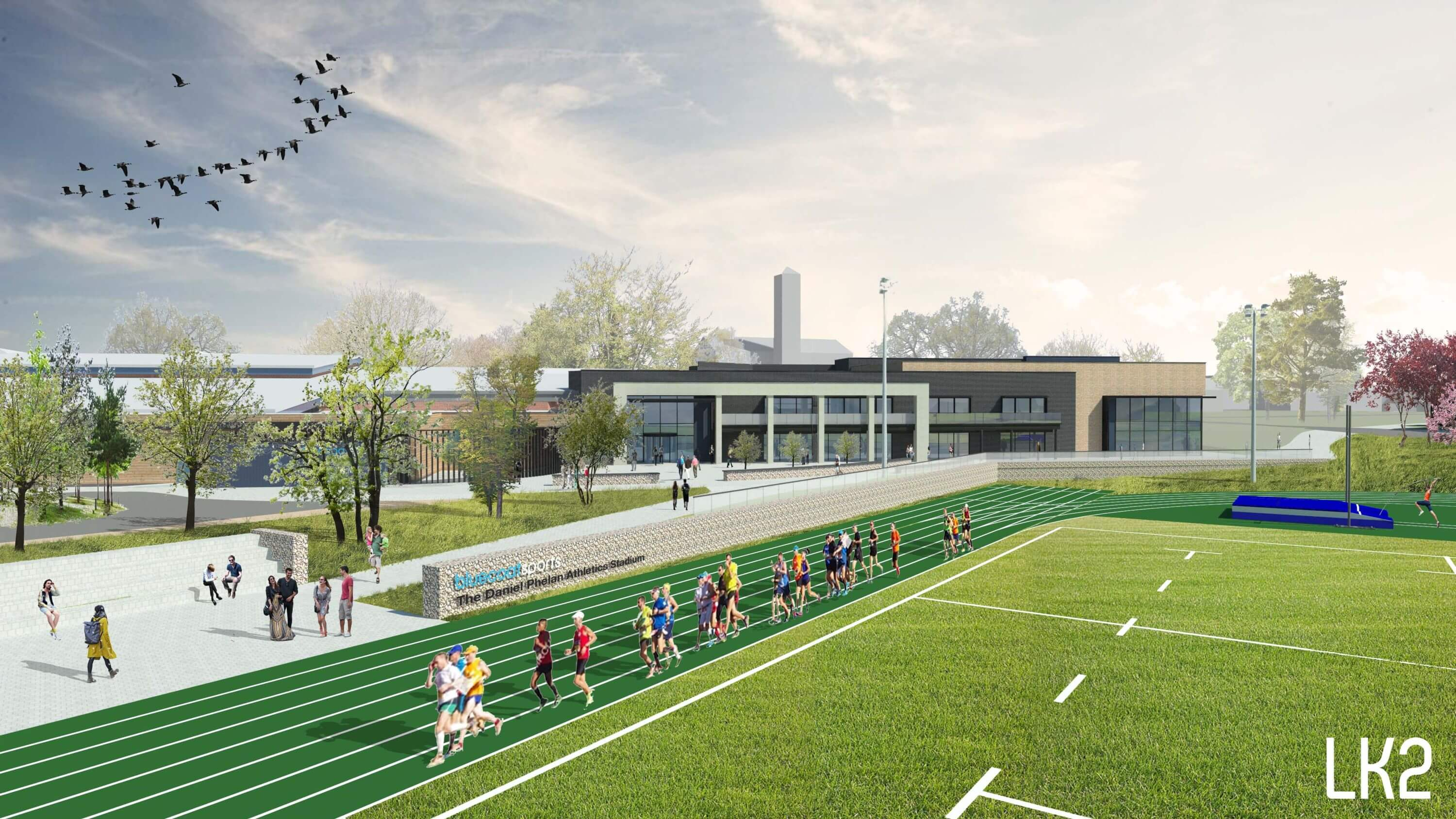 New Athletics Trackand Sports Expansion