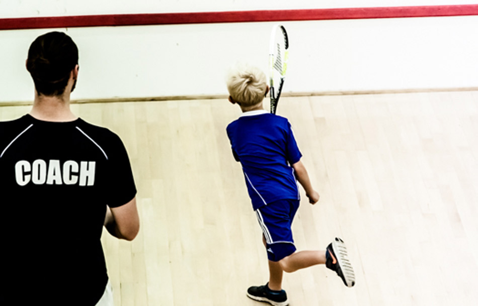 Kids FUNdamentals squash