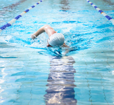 Over 60s Swimming sessions at Bluecoat Sports