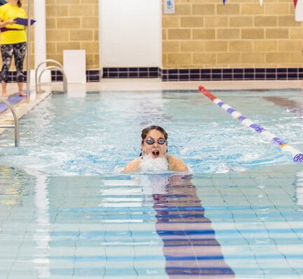 Swimming courses for children