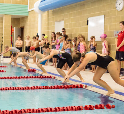 Swimming Lessons at Bluecoat Sports
