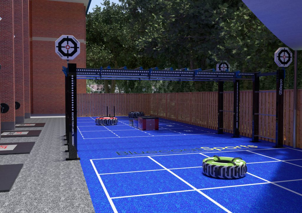 The fitness yard