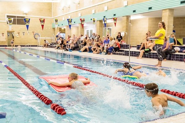 swimming lesson at bluecoat sports
