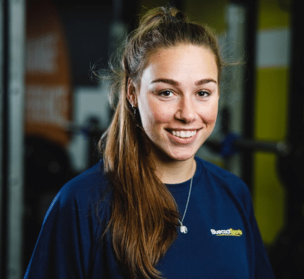 Caitlin Walsh Personal Trainer Bluecoats